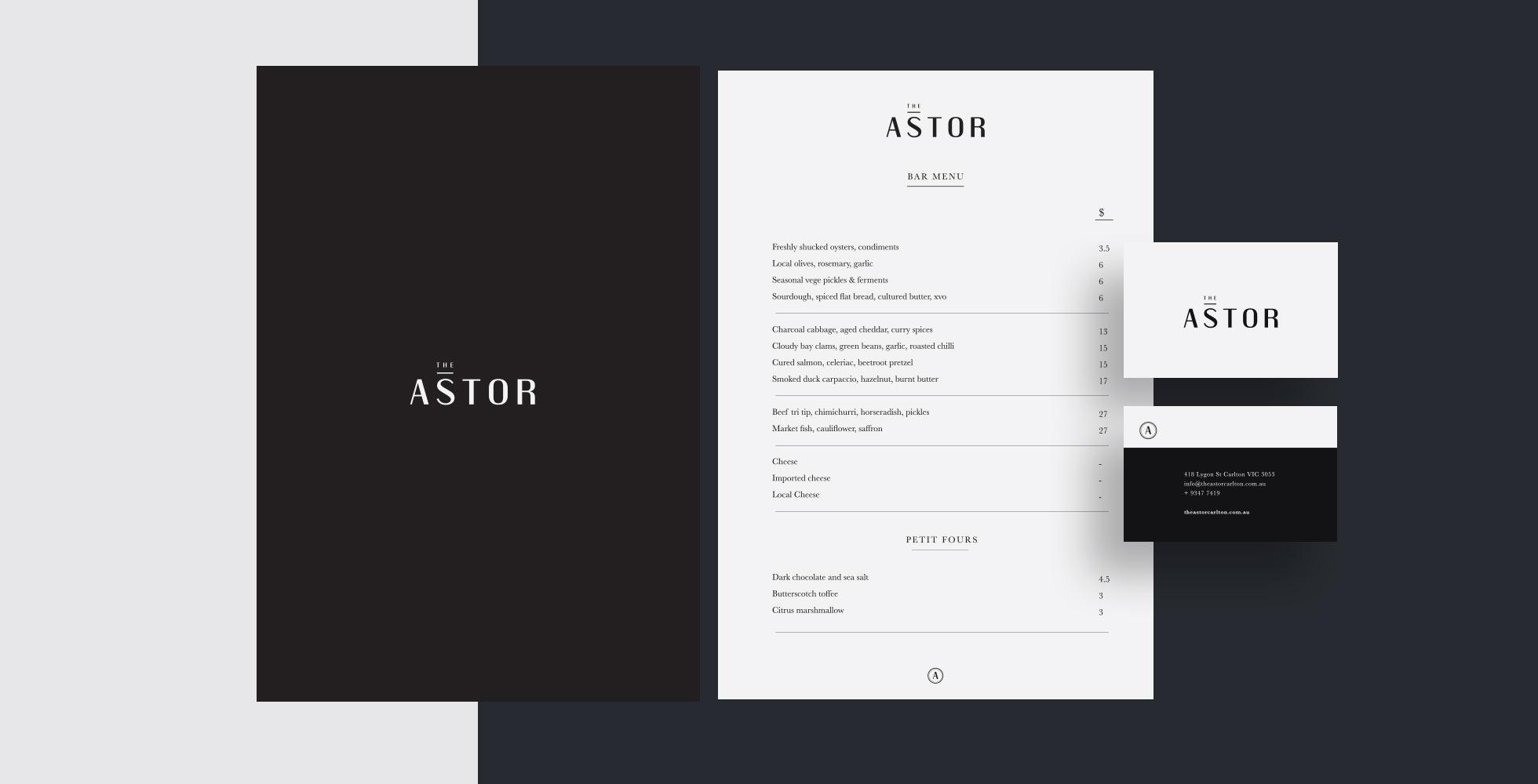 The Astor & The Roving Marrow