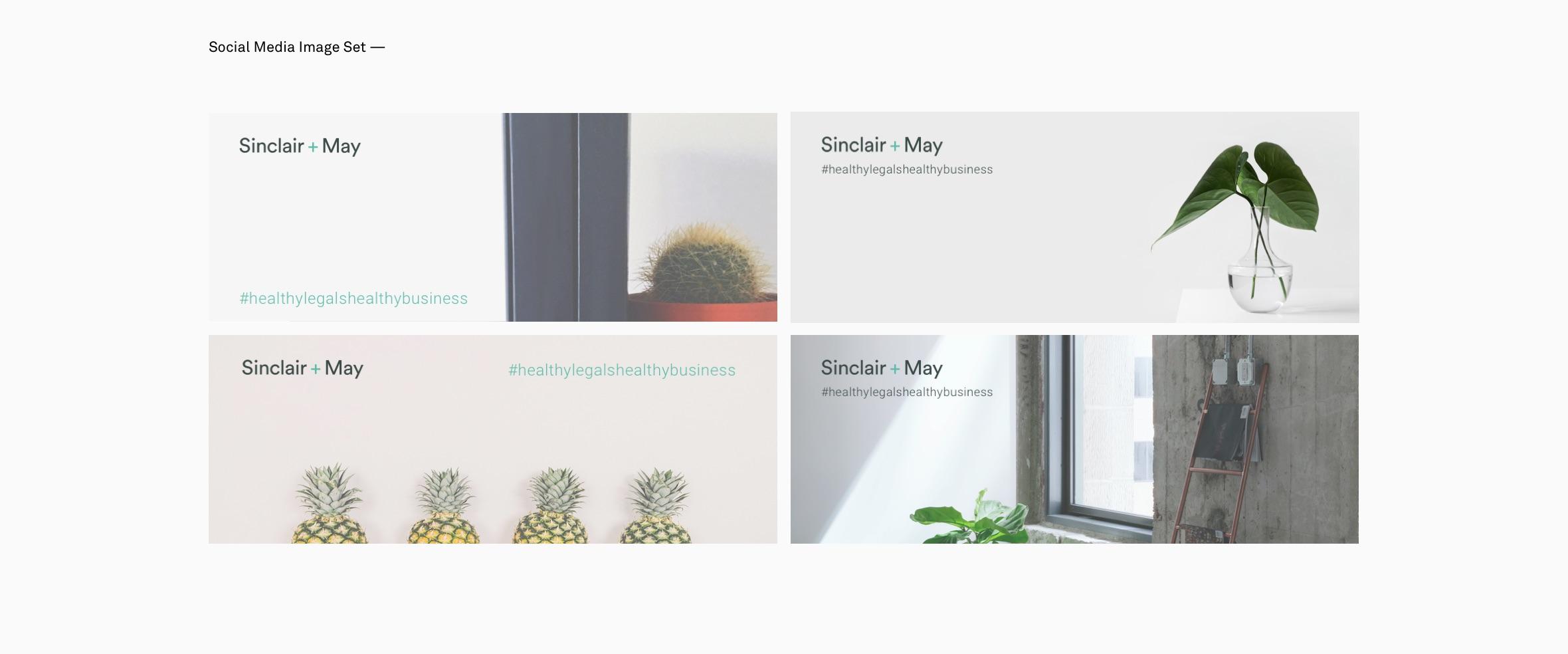 Sinclair + May